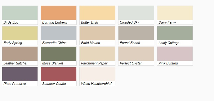 Dulux Diamond Paint Colour Range