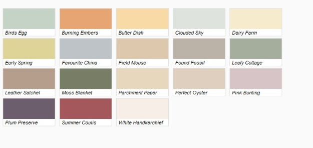 Designer paint from Dulux