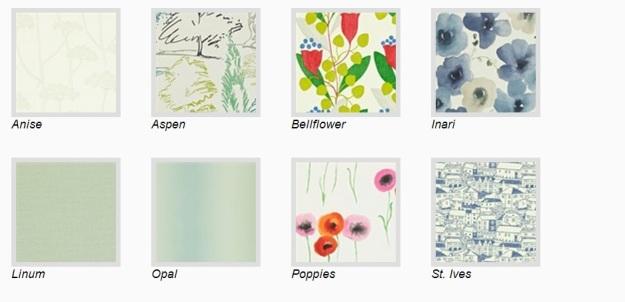 Sanderson designer wallpaper (Colour of Living)