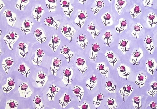 Daisy Patch printed by Designers Guild